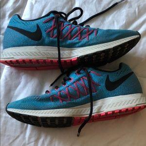 Nike Blue & Pink Pegasus Sneakers